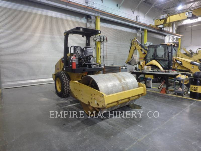 CATERPILLAR EINZELVIBRATIONSWALZE, BANDAGE CS44 equipment  photo 1