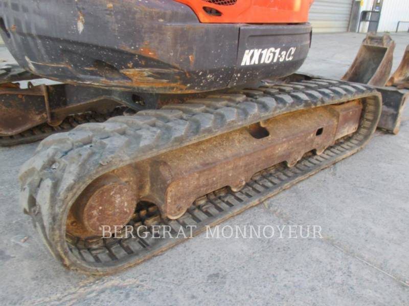 KUBOTA TRACTOR CORPORATION KOPARKI GĄSIENICOWE KX161.3 equipment  photo 20
