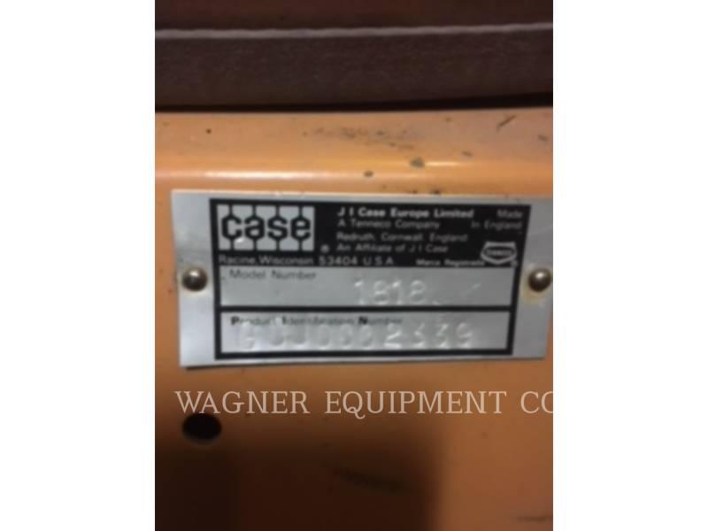 CASE SKID STEER LOADERS 1818 equipment  photo 9