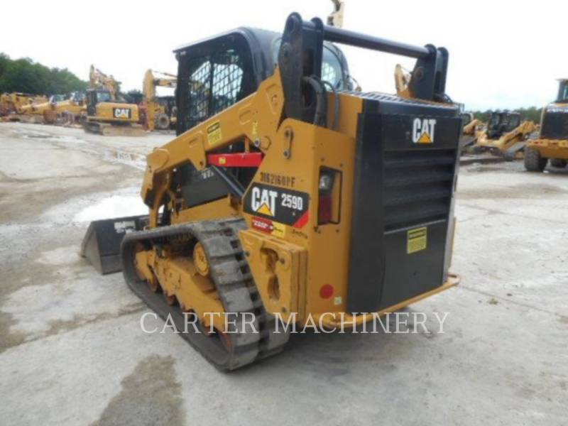 CATERPILLAR CHARGEURS TOUT TERRAIN 259D ACW equipment  photo 3