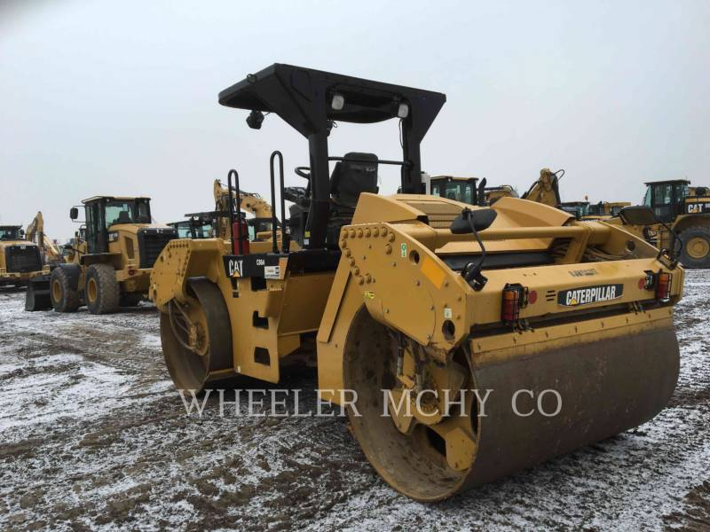 CATERPILLAR VIBRATORY DOUBLE DRUM ASPHALT CB64 VV equipment  photo 6