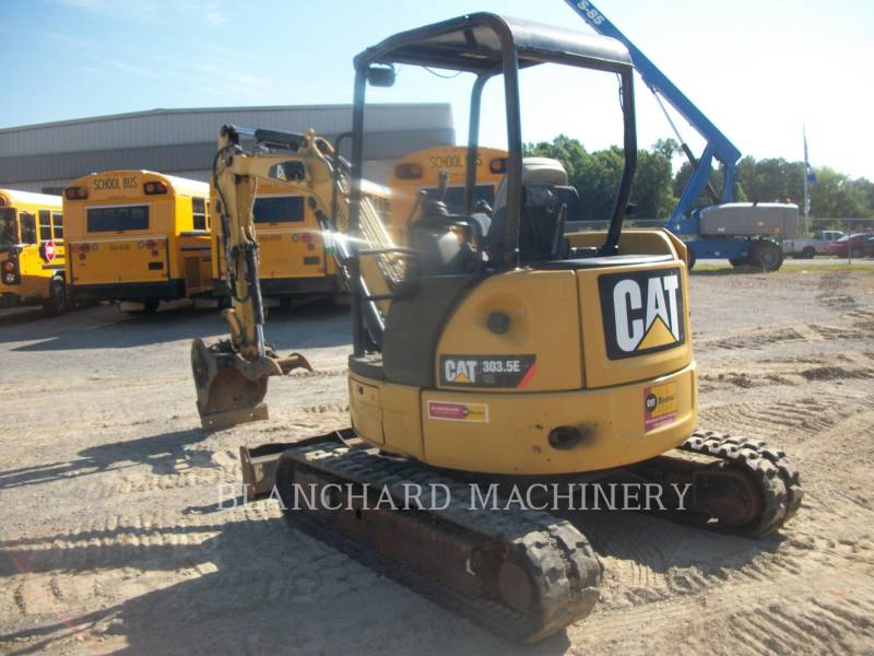 CATERPILLAR EXCAVADORAS DE CADENAS 303.5E CR equipment  photo 4