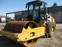 Equipment photo CATERPILLAR CS56 COMPATTATORE A SINGOLO TAMBURO VIBRANTE LISCIO 1