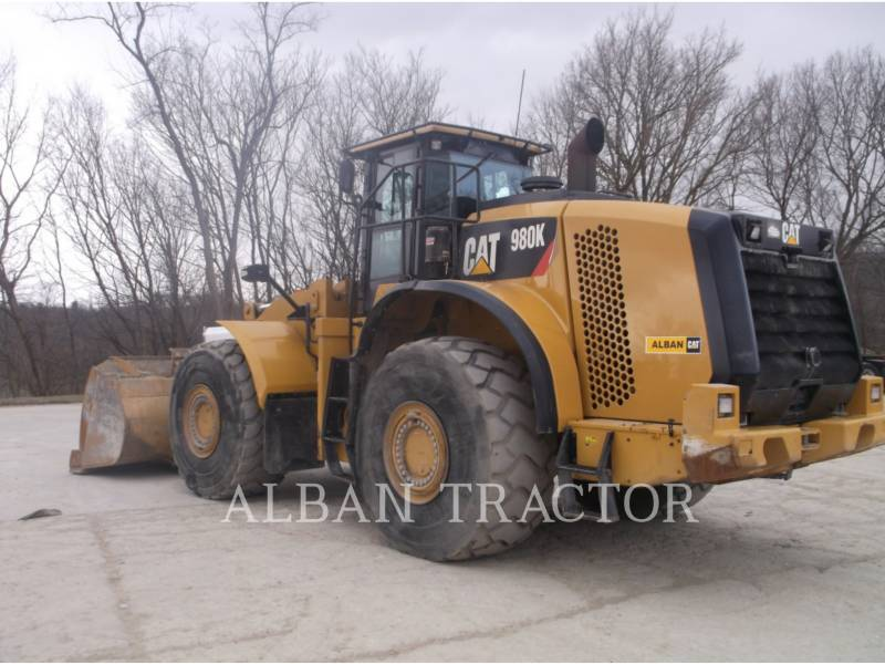 CATERPILLAR WHEEL LOADERS/INTEGRATED TOOLCARRIERS 980K DCA2 equipment  photo 4