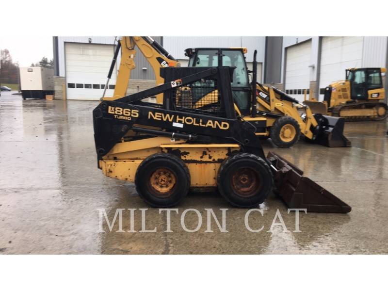 NEW HOLLAND LTD. SKID STEER LOADERS LX865 equipment  photo 4