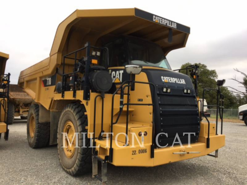 Caterpillar CAMIOANE PENTRU TEREN DIFICIL 770 equipment  photo 3