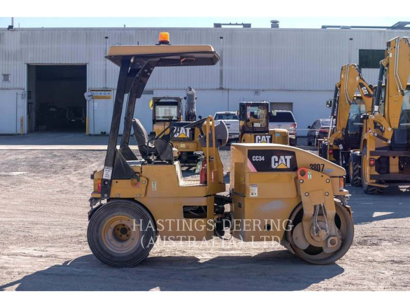 CATERPILLAR VIBRATORY DOUBLE DRUM ASPHALT CC34 equipment  photo 4