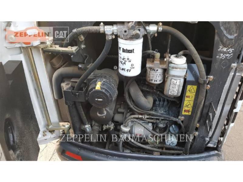 BOBCAT トラック油圧ショベル E19 equipment  photo 8