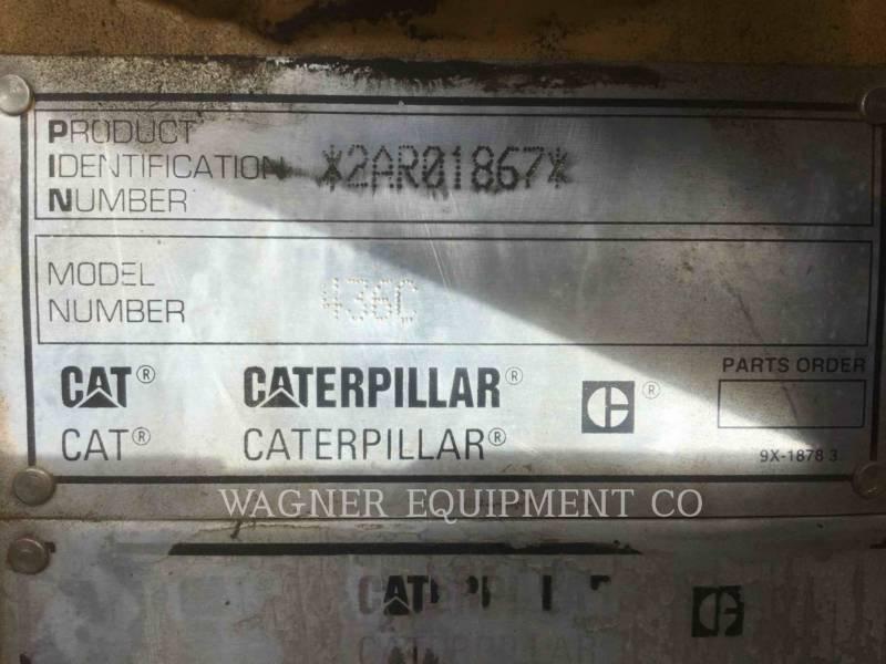 CATERPILLAR CHARGEUSES-PELLETEUSES 436C equipment  photo 9