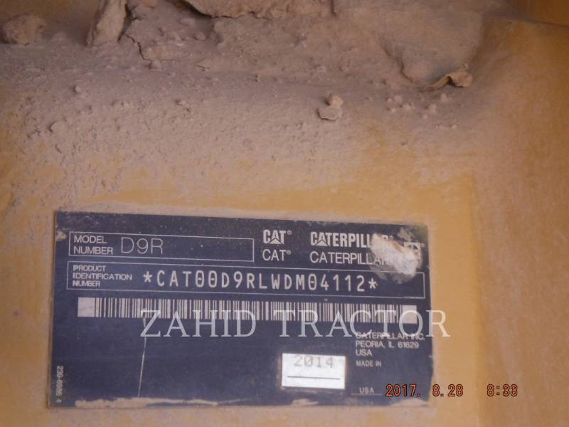 CATERPILLAR TRACTORES DE CADENAS D 9 R equipment  photo 7