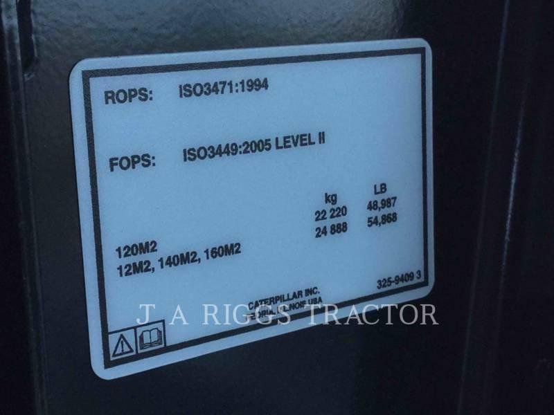 CATERPILLAR MOTONIVELADORAS 140M LC14 equipment  photo 20