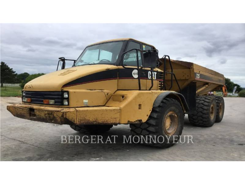 CATERPILLAR DUMPER ARTICOLATI 725 equipment  photo 2
