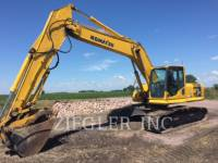 Equipment photo KOMATSU LTD. PC220LC-8 TRACK EXCAVATORS 1