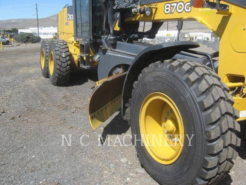 JOHN DEERE MOTOR GRADERS 870G equipment  photo 5