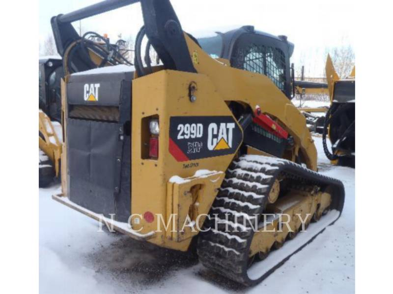 CATERPILLAR スキッド・ステア・ローダ 299D XHP equipment  photo 3