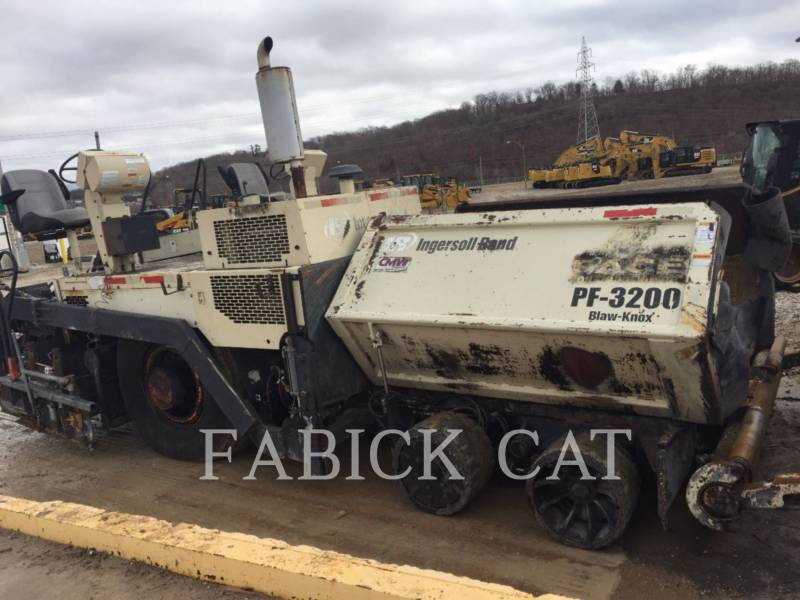 INGERSOLL-RAND ASPHALT PAVERS PF3200 equipment  photo 1
