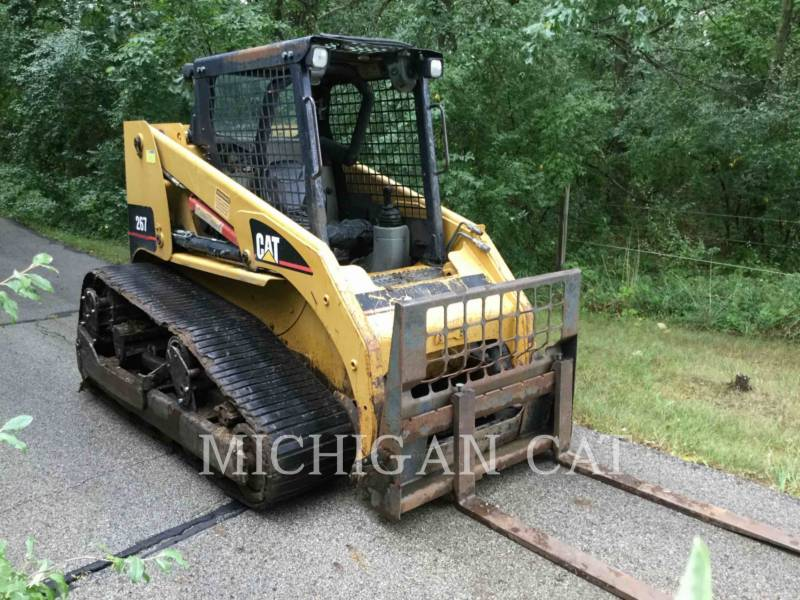 CATERPILLAR MULTI TERRAIN LOADERS 267 equipment  photo 2