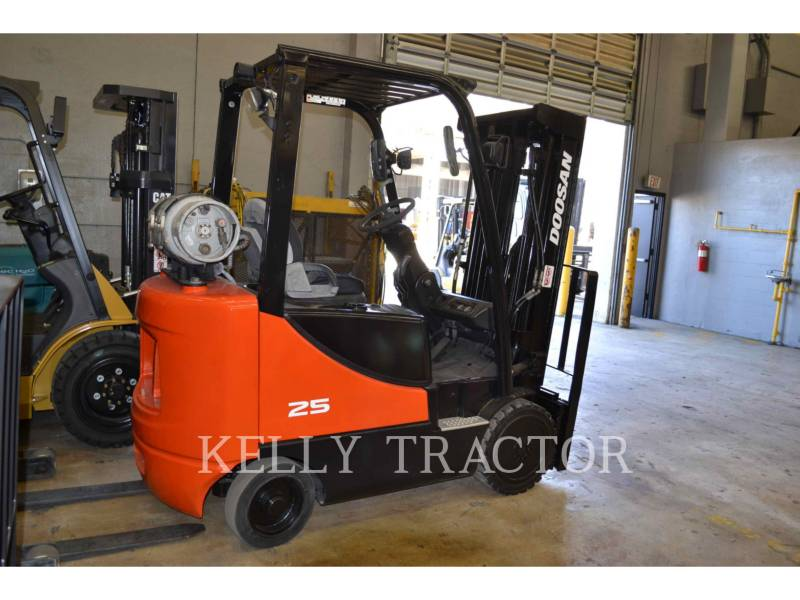 DOOSAN INFRACORE AMERICA CORP. FORKLIFTS GC25P-5 equipment  photo 3