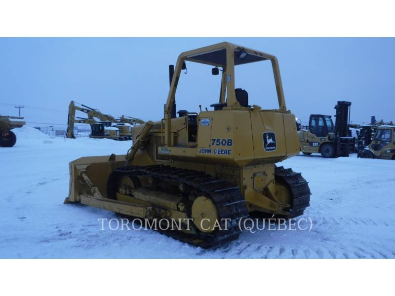 JOHN DEERE TRACK TYPE TRACTORS 750B equipment  photo 5