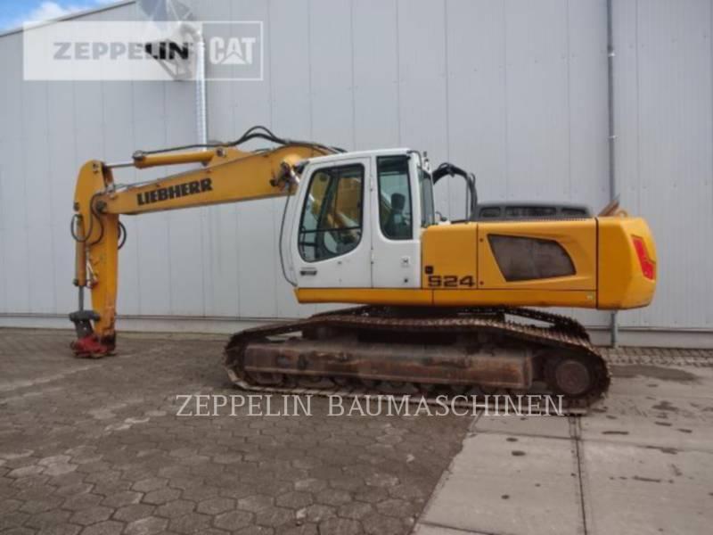 LIEBHERR PELLES SUR CHAINES R924 equipment  photo 6