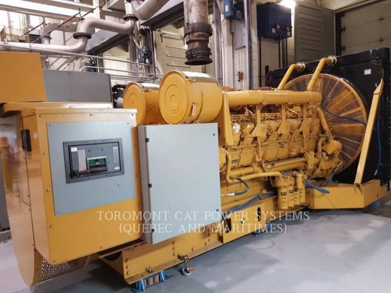 CATERPILLAR STATIONARY GENERATOR SETS 3516B,_ 2000KW,_ 600V equipment  photo 4