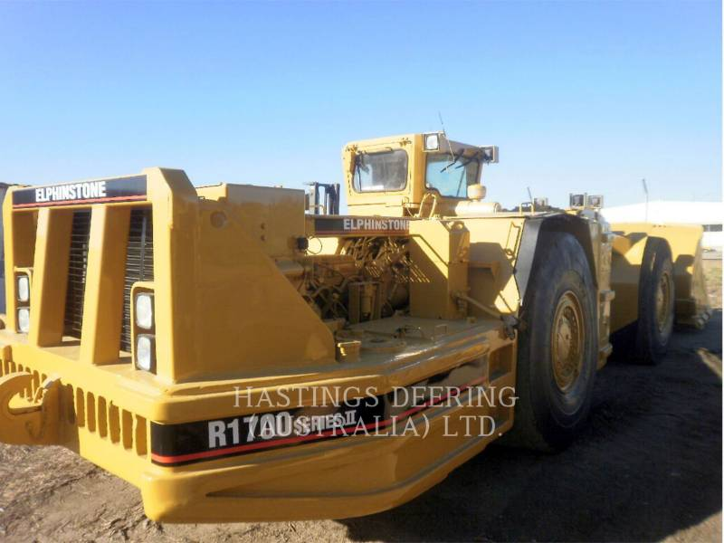 ELPHINSTONE UNDERGROUND MINING LOADER R1700II equipment  photo 4