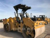CATERPILLAR TANDEMVIBRATIONSWALZE, ASPHALT CB64 R9 equipment  photo 3