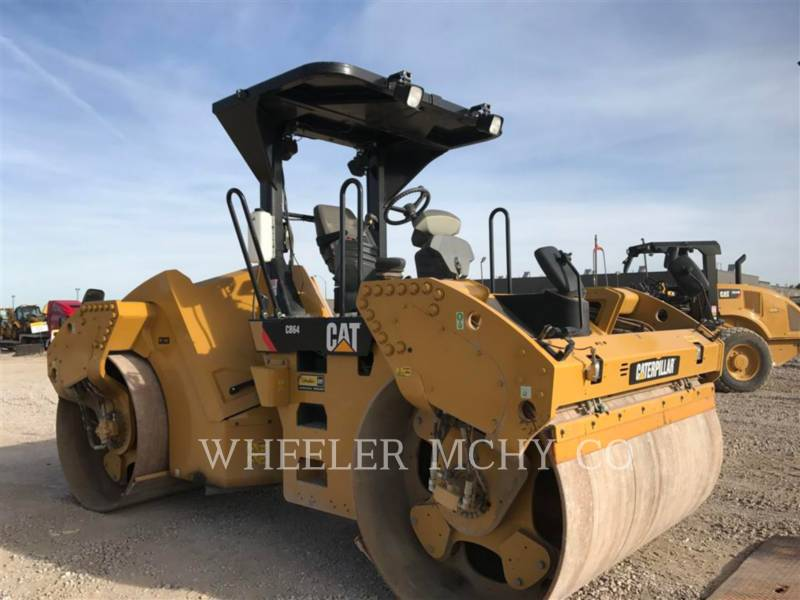 CATERPILLAR VIBRATORY DOUBLE DRUM ASPHALT CB64 R9 equipment  photo 3
