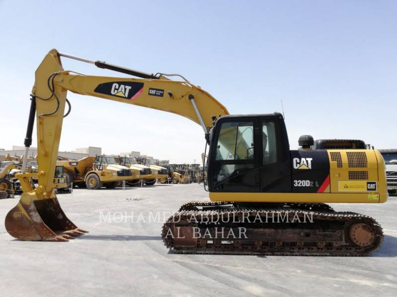 CATERPILLAR KETTEN-HYDRAULIKBAGGER 320 D L2 REACH equipment  photo 2