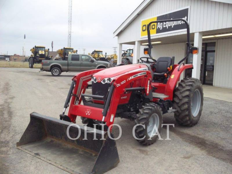 AGCO-MASSEY FERGUSON TRACTEURS AGRICOLES MF1742L equipment  photo 2