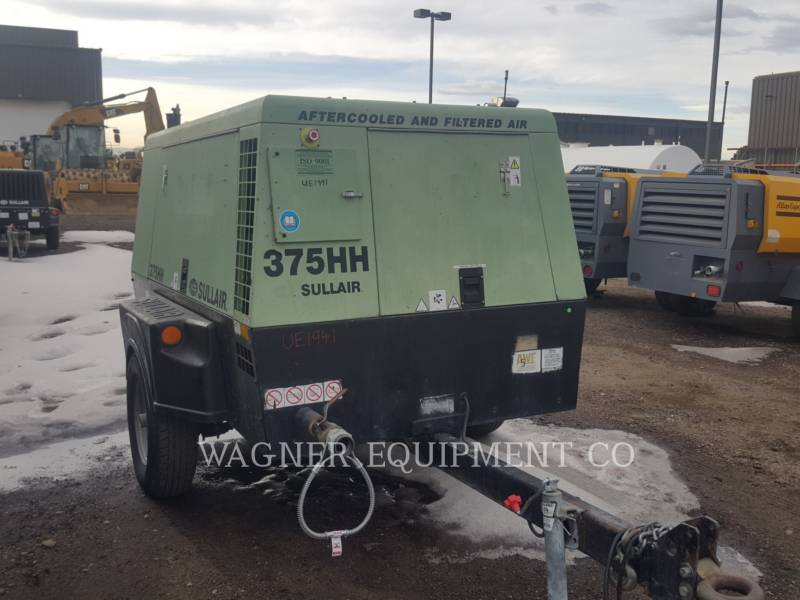 SULLAIR LUCHTCOMPRESSOR 375HHAF equipment  photo 2