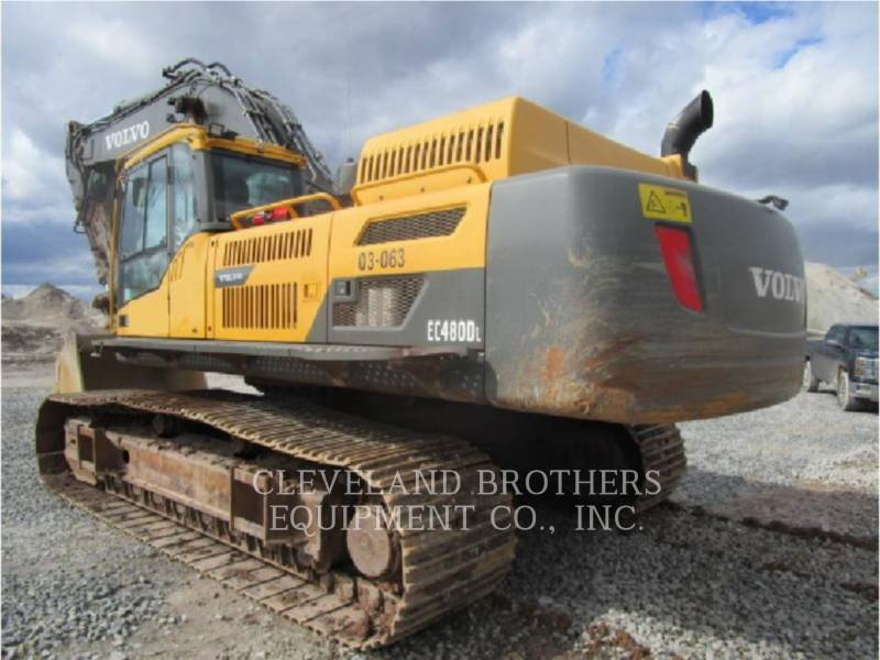 VOLVO CONSTRUCTION EQUIPMENT TRACK EXCAVATORS EC480DL equipment  photo 4