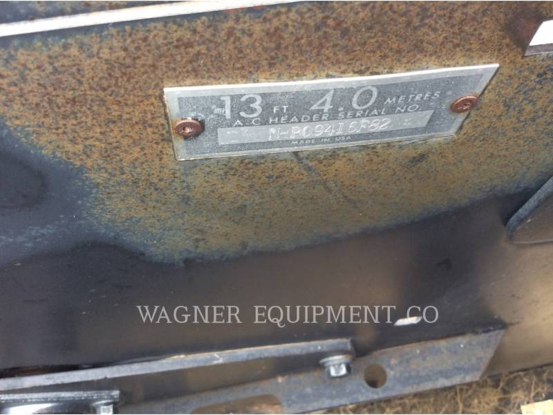 GLEANER  COMBINE HEADER P13 equipment  photo 15