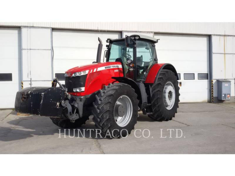 AGCO-MASSEY FERGUSON LANDWIRTSCHAFTSTRAKTOREN MF8680 equipment  photo 1