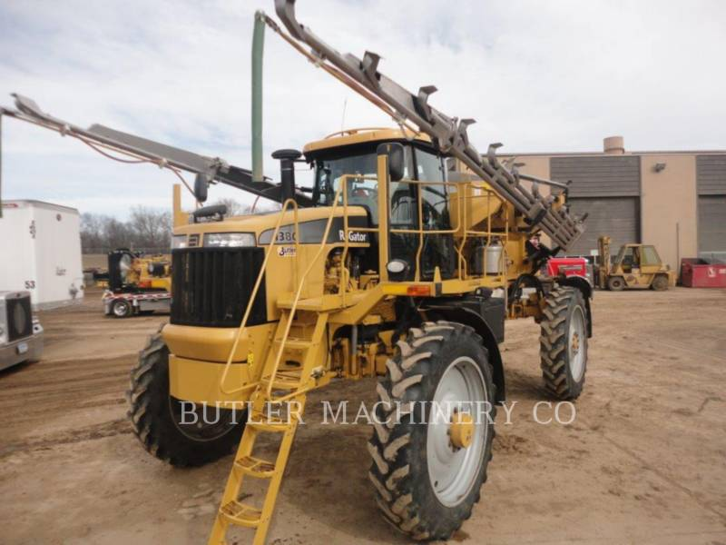 ROGATOR PULVERIZADOR RG1386 equipment  photo 3