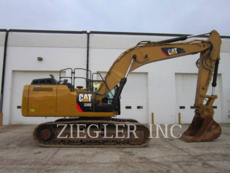 CATERPILLAR TRACK EXCAVATORS 336ELH2 equipment  photo 3