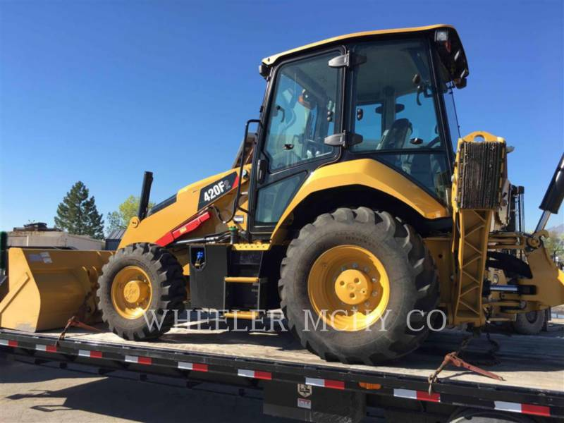CATERPILLAR CHARGEUSES-PELLETEUSES 420F2 E equipment  photo 2
