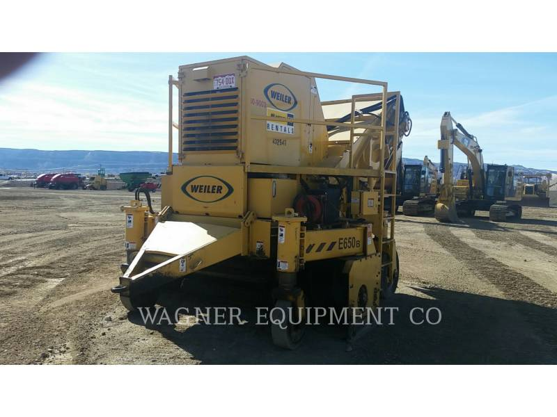 WEILER WINDROW ELEVATORS E650B equipment  photo 1