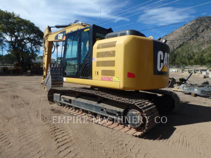 CATERPILLAR KETTEN-HYDRAULIKBAGGER 320E LRR P equipment  photo 3