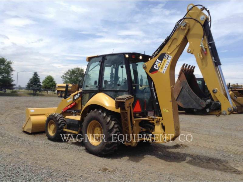 CATERPILLAR BACKHOE LOADERS 430F 4WD equipment  photo 4