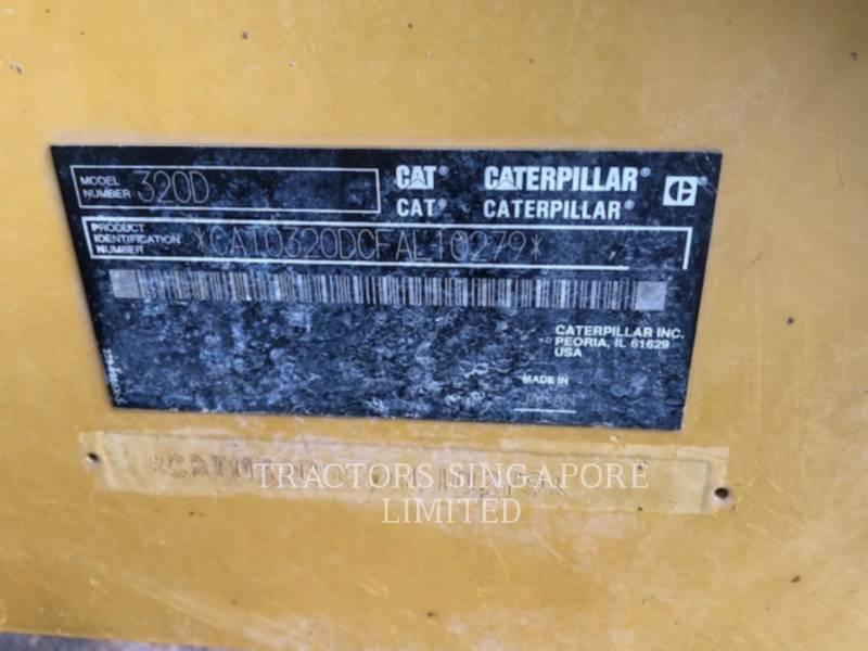 CATERPILLAR TRACK EXCAVATORS 320D equipment  photo 19