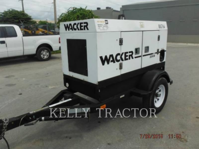 WACKER CORPORATION 移動式発電装置 G25 equipment  photo 4