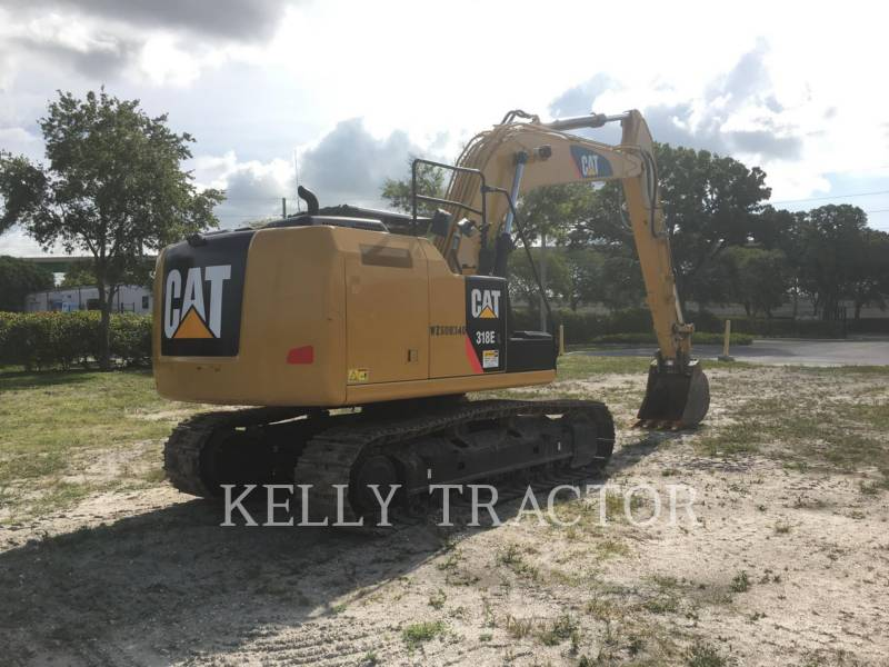 CATERPILLAR KETTEN-HYDRAULIKBAGGER 318EL equipment  photo 6