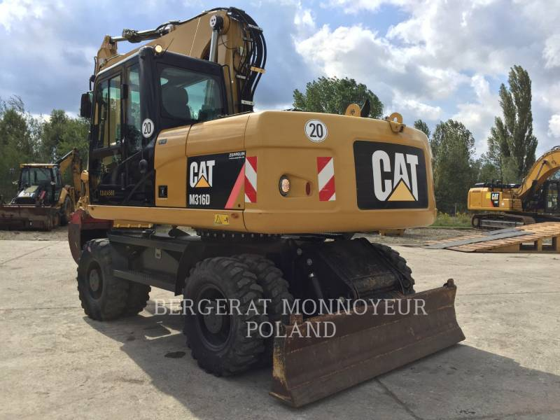 CATERPILLAR MOBILBAGGER M316D equipment  photo 4