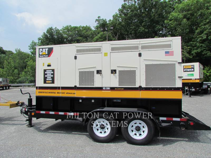 CATERPILLAR PORTABLE GENERATOR SETS XQ200T4I equipment  photo 1
