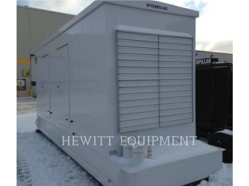 CATERPILLAR STATIONARY GENERATOR SETS 3406 ENCLOSED 300KW 600 V equipment  photo 2