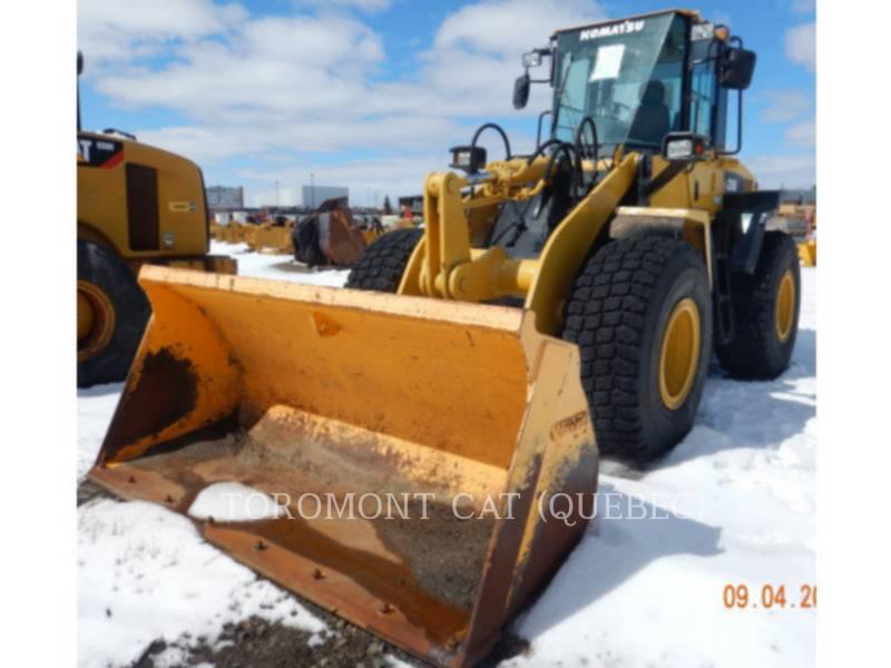 KOMATSU CARGADORES DE RUEDAS WA250 equipment  photo 2