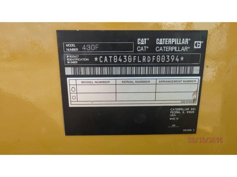 CATERPILLAR CHARGEUSES-PELLETEUSES 430FST equipment  photo 14
