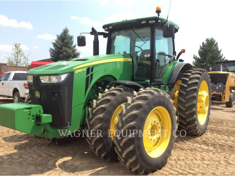 DEERE & CO. TRATTORI AGRICOLI 8360R equipment  photo 1
