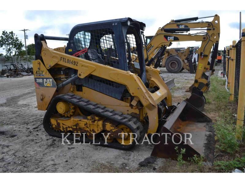 CATERPILLAR PALE CINGOLATE MULTI TERRAIN 259D equipment  photo 1